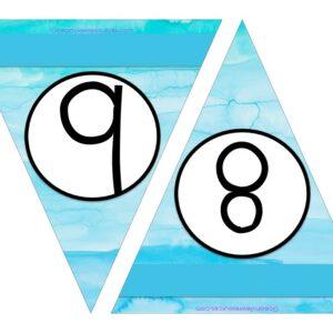 Free Printable Numbers 8-9