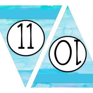 Free Printable Numbers 10-11