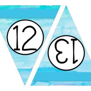 Free Printable Numbers 12-13